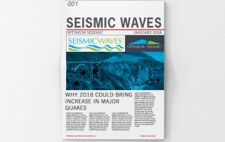 SEISMIC WAVES JANUARY 2018 NEWSLETTER