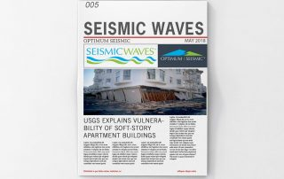 Seismic Waves May Newsletter Optimum Seismic