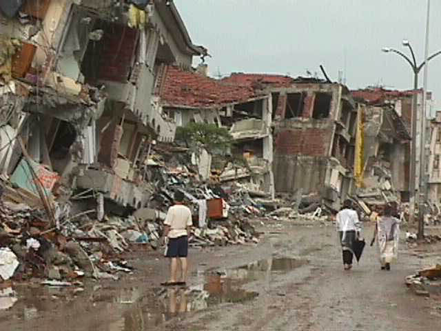 Turkey Earthquake 1999