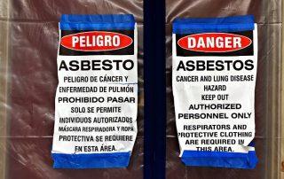 asbestos seismic retrofit