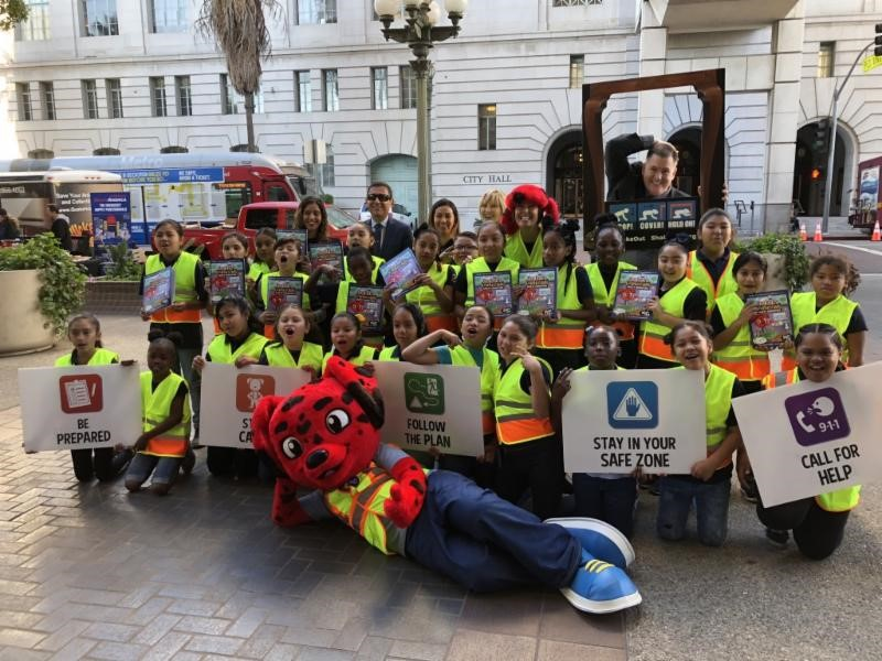 10th Annual ShakeOut Drill Draws 60 Million Participants