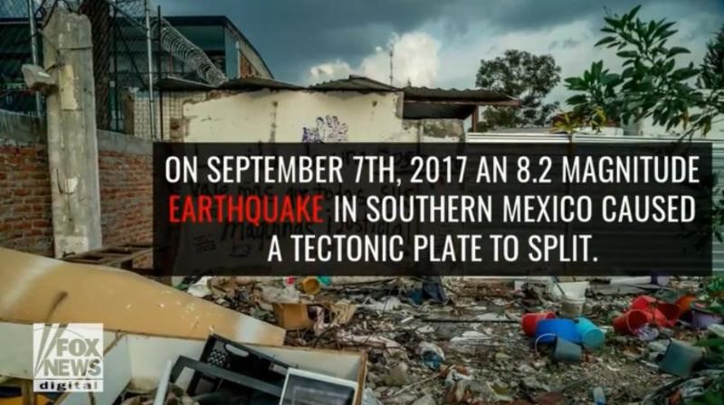 Mexican Quake Split Tectonic Plate in Two