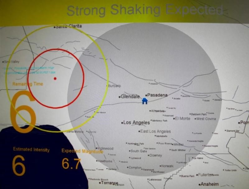 West Coast Earthquake Warning System in 'Operational Mode'