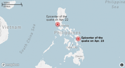 Another Earthquake Hit The Philippines Today