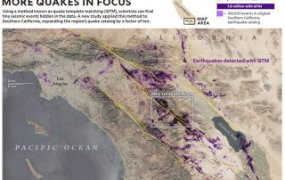 Every 3 minutes a earthquake happens in Southern California