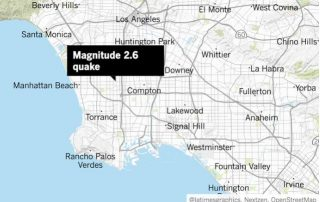 A weak earthquake hit on Wednesday night, SERVES as a reminder we have other faults besides the San Andreas fault to worry about