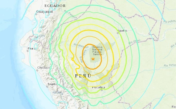 8.0 Quakes in Peru Cause Strikingly Different Impacts