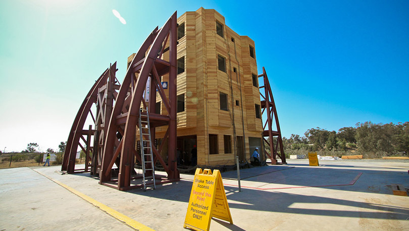 UCSD at the Epicenter of Research on Seismic Engineering - Optimum