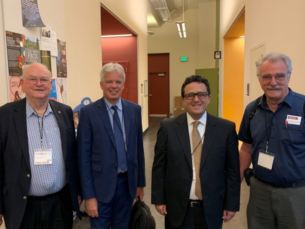 """As a national advocate for safer cities throughout the United States, Optimum Seismic Chief Operating Officer Ali Sahabi participated last month in the American Institute of Architects Oregon's URM Seismic Resilience Symposium. The three-day event, held July 18-20 at Portland State University, featured two days of presentations from prominent engineers and architects from the Oregon, Washington and California, as well as leading experts from Canada, New Zealand and Italy. Day three included a behind-the-scenes tour of recently retrofitted buildings in the downtown Portland area. Topics of discussion included: • The latest research on earthquakes and the effects of seismic motion on buildings • Unreinforced Masonry construction and seismic technology options • Building codes and historic preservation requirements • Seismic upgrade project considerations and costs • Public policy, finance, and resiliency Luca Nassi, principal of the Italian National Fire Brigade, spoke on his experiences with earthquake disaster and resilience efforts through enhanced building safety throughout Italy and abroad. The symposium was organized in collaboration with the International Masonry Institute, American Institute of Architects Oregon, Structural Engineering Association of Oregon, American Society of Civil Engineers, and the Association of Preservation Technology Northwest. """"Seismic safety is a matter of concern, not only in California, but all over the world,"""" Sahabi said. """"It's encouraging to see people from as far off as New Zealand and Europe coming together to share ideas and educate themselves about the latest approaches to building safety."""" As the voice of Oregon architects, AIA Oregon is the state's chapter of the American Institute of Architects, providing over 1,500 members with practice resources, professional continuing education and advocating for sound public policies that support livable, sustainable communities. .For more information, visit aiaoregon.org."""