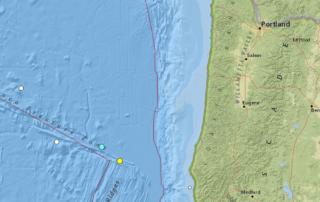 4.6 earthquake hit off Oregon's coast