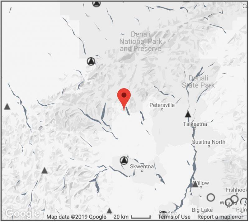A 5.0 earthquake hit Talkeetna, Alaska