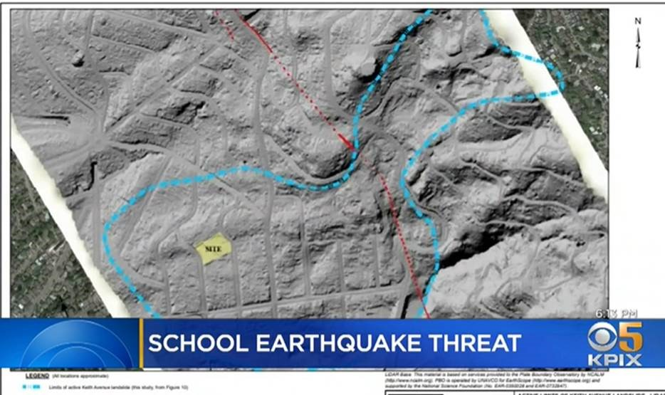 Berkeley Schools Unsafe in an event of a major earthquake