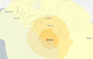 3.4 earthquake hits Ventura
