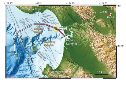 Scientists Discover Fault System Near Monterey Bay