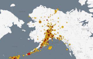 4.7 magnitude earthquake hit Fox Islands