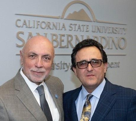 Ali Sahabi and Robert Nava
