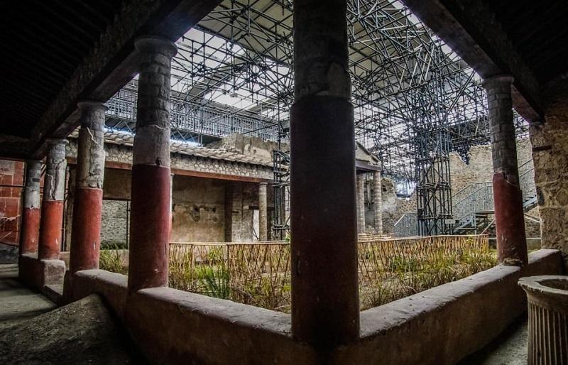 Retrofit Work at Pompeii Reopens Closed Exhibits