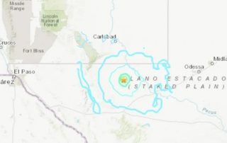 West Texas Was Hit With A 5.0 Magnitude Earthquake