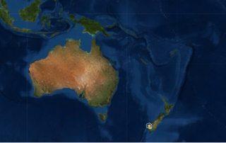5.6 Magnitude earthquake hit New Zealand