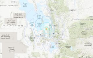 Once again another 4.2 earthquake hits Wasatch Front