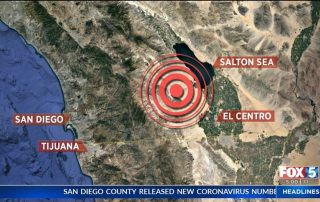4.5 Magnitude Earthquake Hit Socal