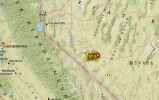 500 Or More Earthquakes Have Hit Nevada