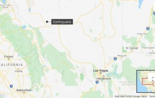 A 6.4 magnitude earthquake hit Nevada