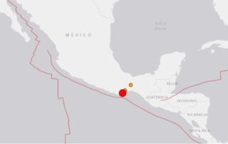 A massive 7.4 magnitude earthquake hit Central Mexico