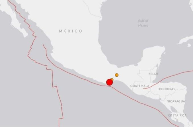 Massive Earthquake Strikes Southern Mexico