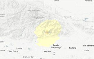 3.2 earthquake hits near Rancho Cucamonga