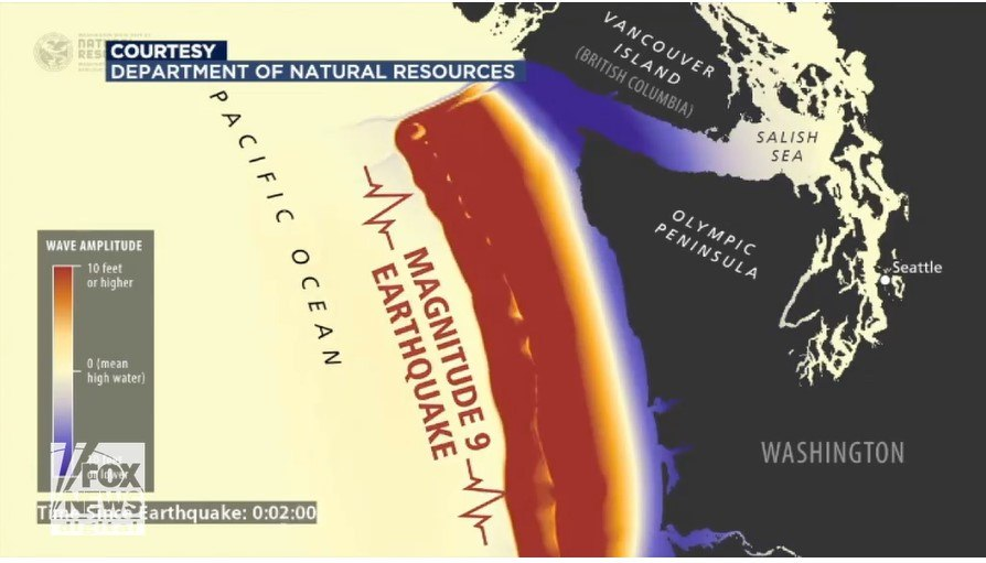 Simulations show, Tsunami could overwhelm Washington coast