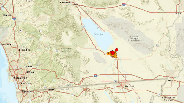 Quake Swarms Remind San Diego of Risks