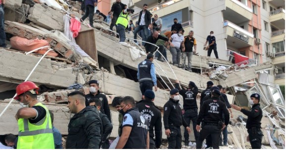 No reported earthquake injuries to US military personnel in Izmir, Turkey