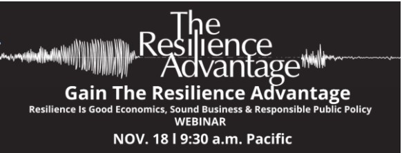 Sign Up for First Quake Resilience Webinar on Nov. 18
