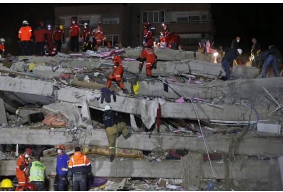 Strong Quake Devastates Turkish Coast, Greek Island of Samos