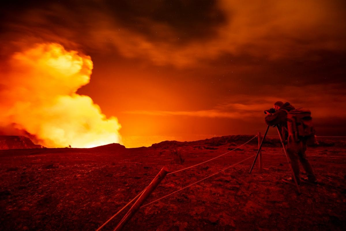 Volcano Erupts Following Series of Earthquakes in Hawaii