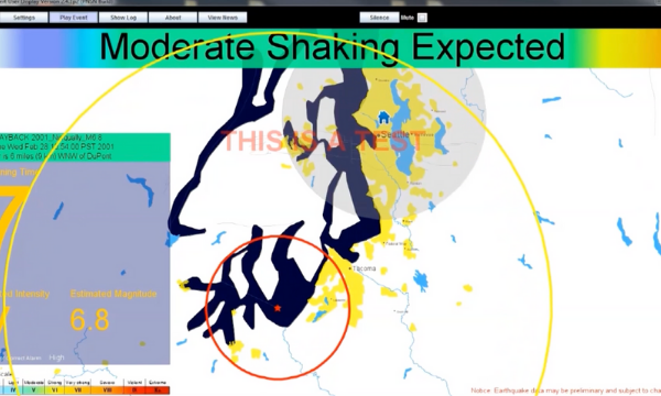 Washington's Earthquake Early-warning System to go Live May 4