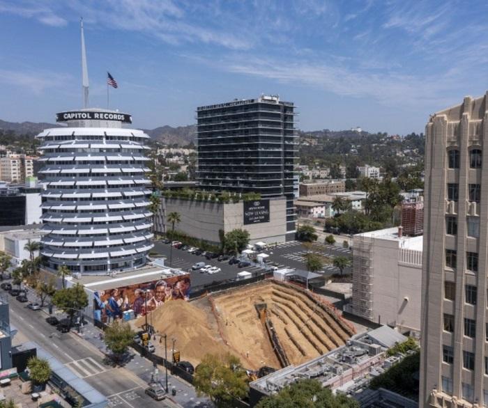 An earthquake fault may block tall Hollywood buildings