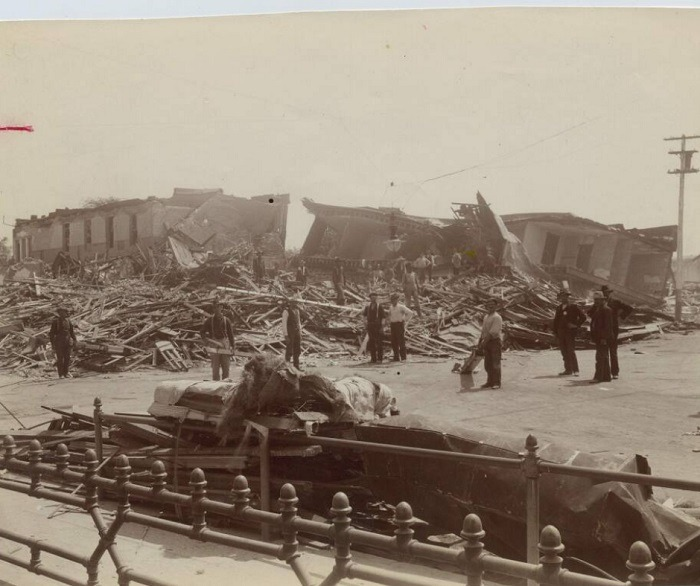 Local newspaper remembers historic 1906 Earthquake