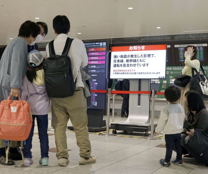 Resilience pays off when Japan hit by 6.8-magnitude quake