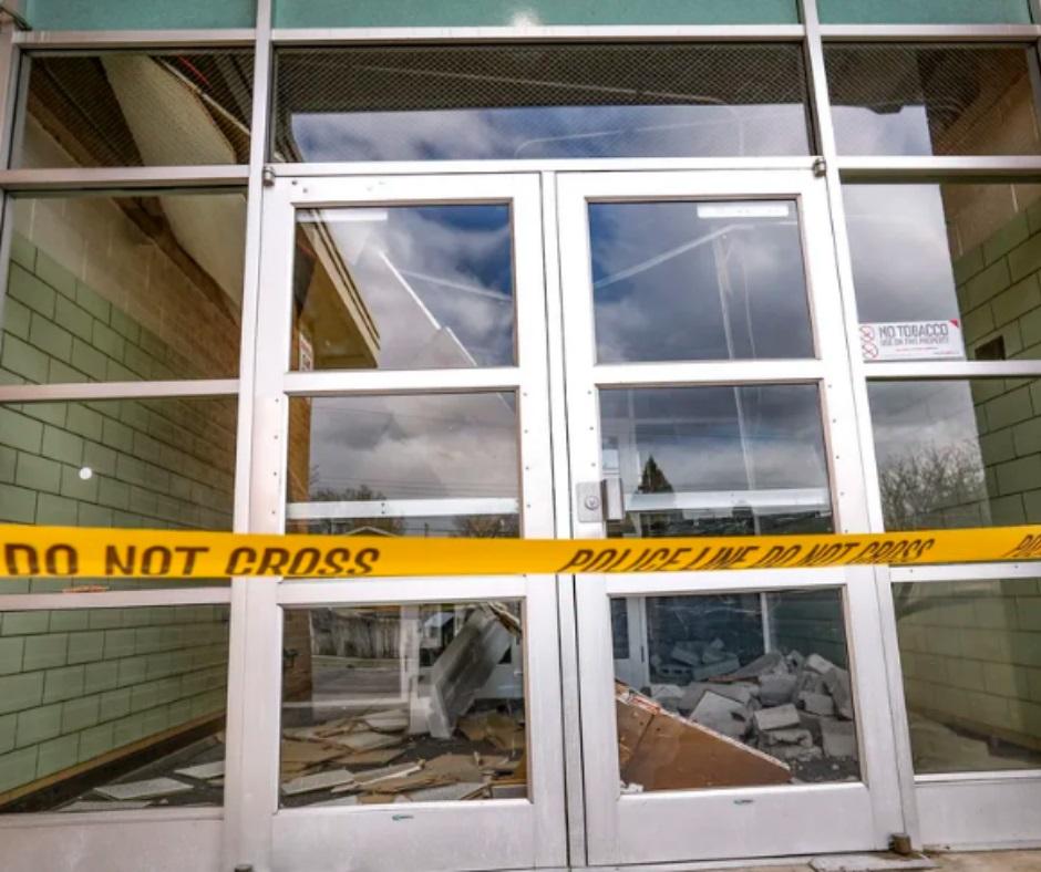 Quake damage has Utah schools rushing to retrofit for safety